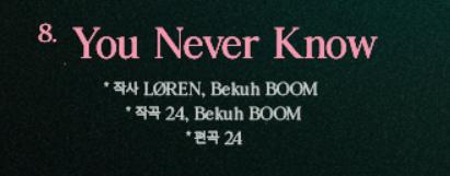 Mổ xẻ tracklist của BLACKPINK: Jisoo và Jennie tham gia trong khi có bài vắng bóng Teddy, Cardi B đã góp giọng còn viết lời cùng ekip khủng - ảnh 11