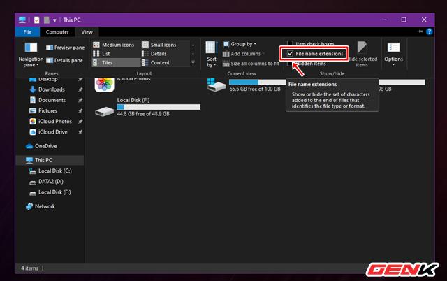 Giấu nhanh tập tin nhạy cảm trên Windows 10 theo cách mà không ai có thể ngờ tới - ảnh 2