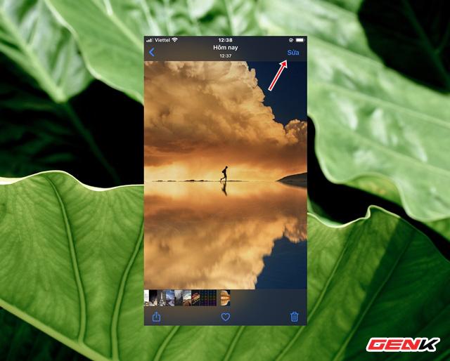 Cách sử dụng kính lúp trong chỉnh sửa ảnh để nhấn mạnh nội dung trên iPhone - ảnh 2