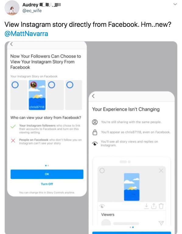 Instagram sẽ cho phép người dùng xem story ngay từ trên Facebook - Ảnh 1.