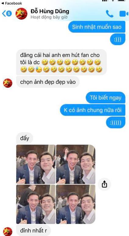 Nhận lời chúc mừng sinh nhật, ông chủ Hùng Dũng tiện thể mời khéo Văn Toàn về đầu quân cho Hà Nội FC - ảnh 3