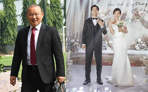 HLV Park Hang-seo bay vào Sài Gòn dự cưới Công Phượng ngay khi đợt tập trung U22 Việt Nam