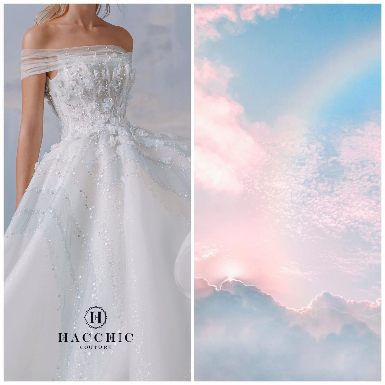 Dự đoán váy cưới cô dâu Viên Minh - vợ Công Phượng sẽ mặc tại Phú Quốc: vẫn tối giản, trang nhã hay cầu kì, quyến rũ? - Ảnh 8.