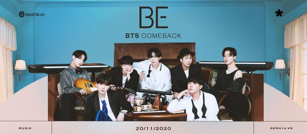 BTS comeback với Life Goes ON và album BE