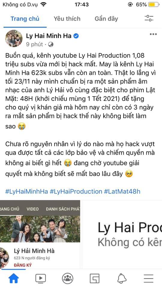 Nhiều kênh YouTube triệu sub của Hồ Quang Hiếu, Vũ Khắc Tiệp, Lynk Lee... bị hack, nhưng nạn nhân lại có phản ứng cực kỳ hài hước! - ảnh 5