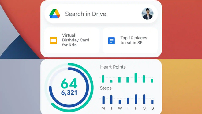 Google ra mắt iOS widget cho ứng dụng Gmail, Drive và Google Fit - ảnh 3