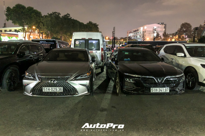 Điểm mặt dàn xe sang khủng đưa đón các sao tại đêm chung kết Hoa Hậu Việt Nam 2020 - ảnh 32