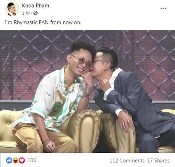 Thành công lớn của Rap Việt sau khi kết thúc hành trình: Tình bạn bắt đầu, hiềm khích được hoá giải! - ảnh 5