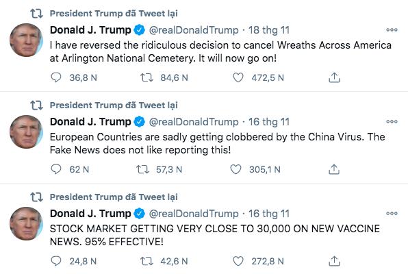 Twitter sẽ trao tài khoản Tổng thống cho Biden ngay cả khi Donald Trump không nhượng bộ - ảnh 3