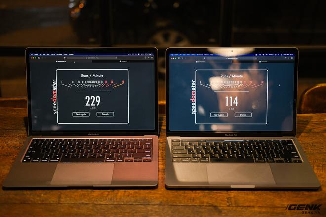 Trải nghiệm nhanh MacBook Air 2020 chip M1: Tôi đã sốc khi Pro 13 inch 2020 bị ngửi khói toàn tập - ảnh 1