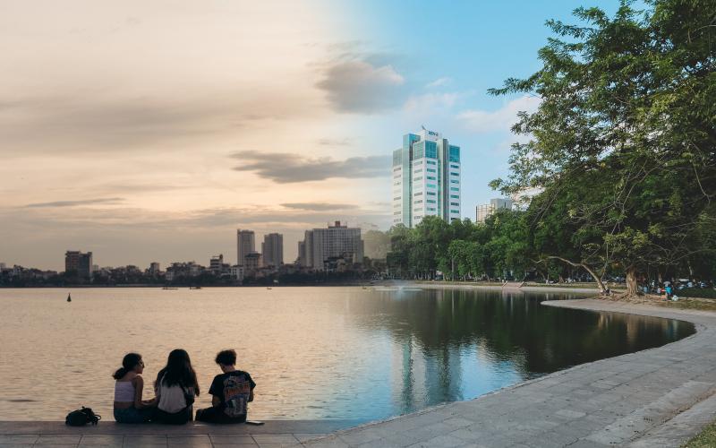 Hồ ở Hà Nội: Không chỉ là cảnh quan, đó còn là đời sống vật chất và tinh thần không thể thiếu của người dân Hà thành