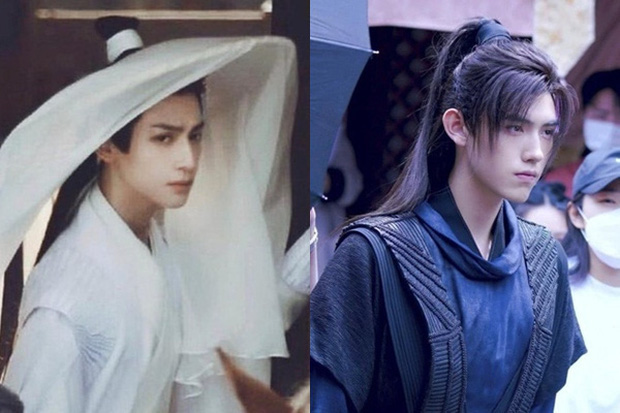 Trần Phi Vũ diệt sạch fan chỉ với hành động nghịch dây buộc tóc La Vân Hi ở hậu trường Hạo Y Hành  - Ảnh 8.