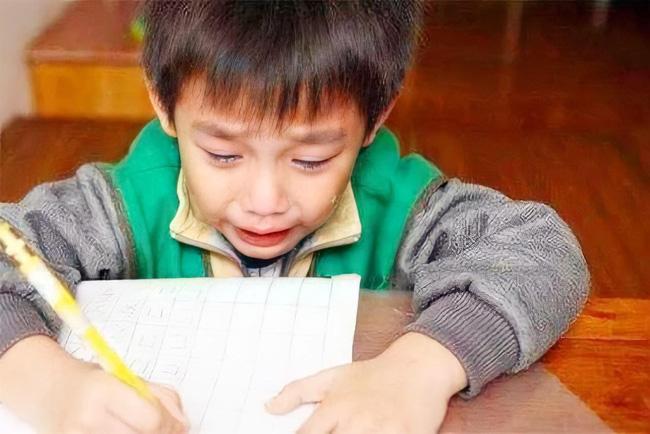 Cậu bé lớp 1 nằng nặc đòi bỏ học, liên tục khóc mếu máo: Tất cả là tại bố mẹ, nguyên nhân khiến cả nhà xúm xít xin lỗi - Ảnh 1.