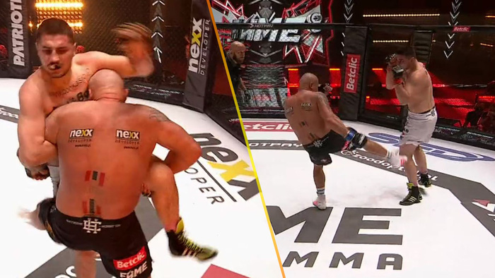 Đang thi đấu bỗng quên luật, võ sĩ kỳ cựu nhanh chóng bị xử thua và cái kết thượng cẳng chân, hạ cẳng tay sau đó - Ảnh 2.