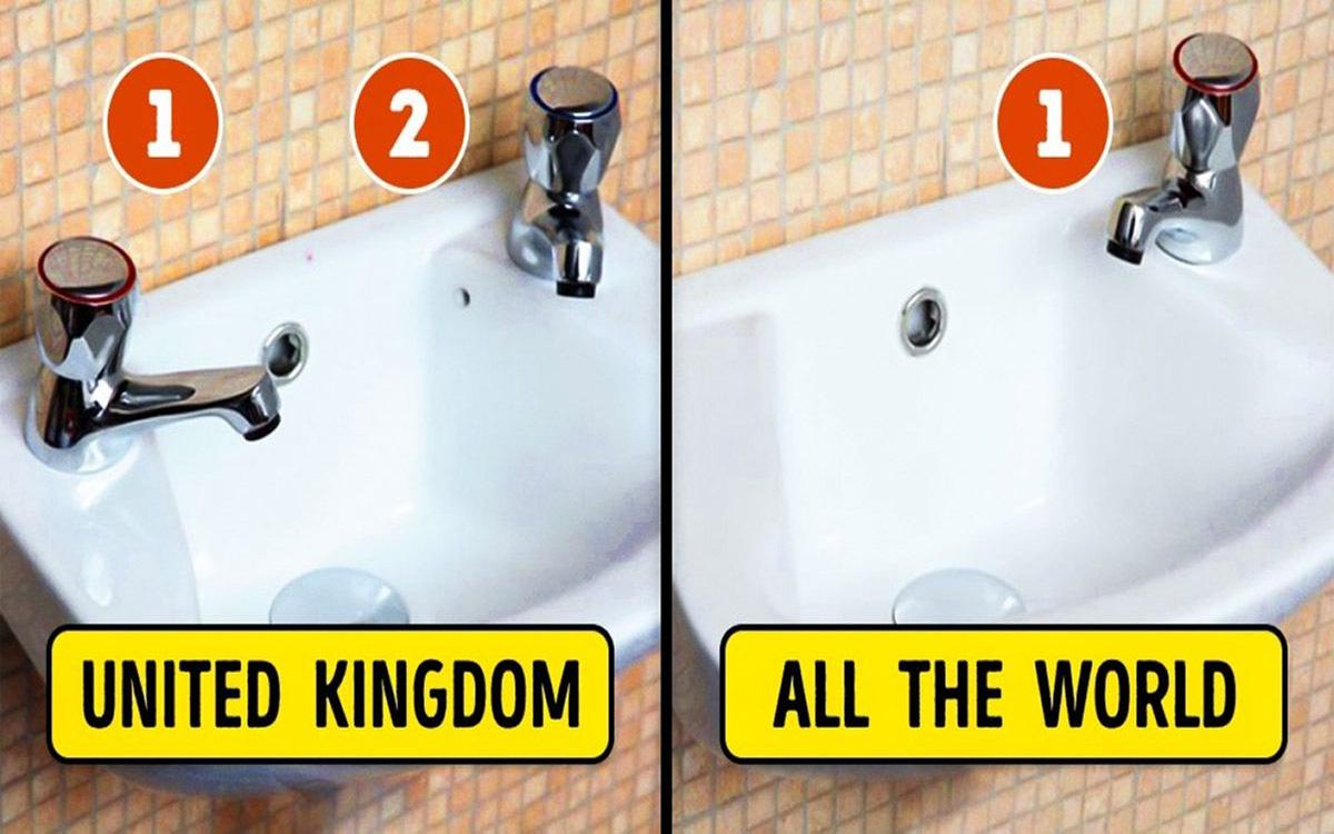 Đây là chiếc bồn rửa kỳ lạ chỉ có tại Anh Quốc, lý do phía sau khiến ai cũng cảm thấy ngỡ ngàng