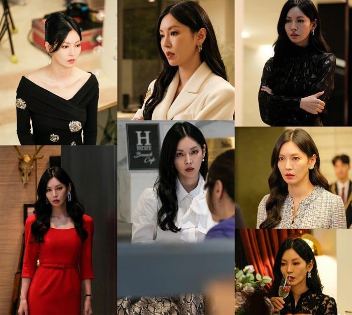 Màn khoe body và vòng 3 đỉnh cao của nàng tiểu tam hot nhất phim Hàn lại đến từ bộ đầm H&M giá chỉ hơn 1 triệu - Ảnh 1.