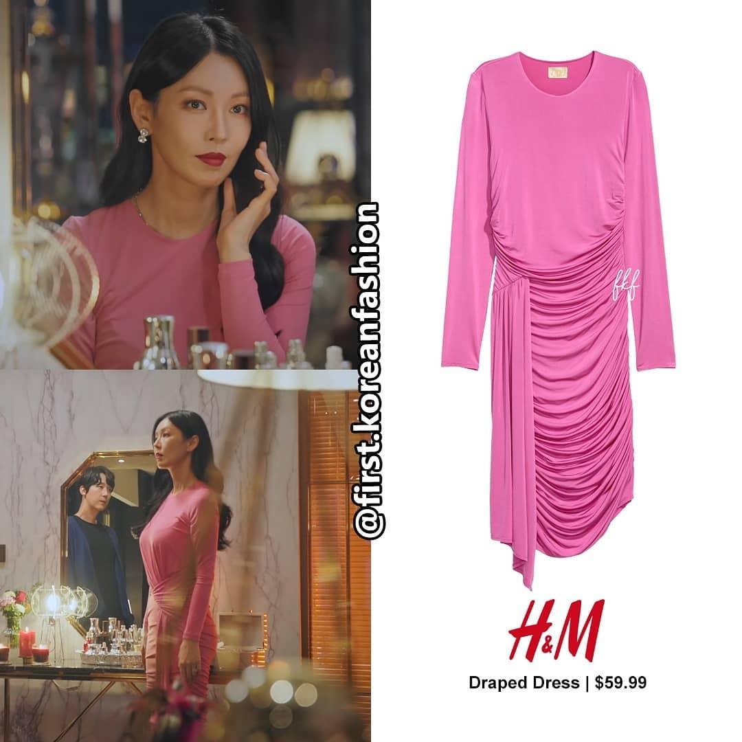Màn khoe body và vòng 3 đỉnh cao của nàng tiểu tam hot nhất phim Hàn lại đến từ bộ đầm H&M giá chỉ hơn 1 triệu - Ảnh 3.