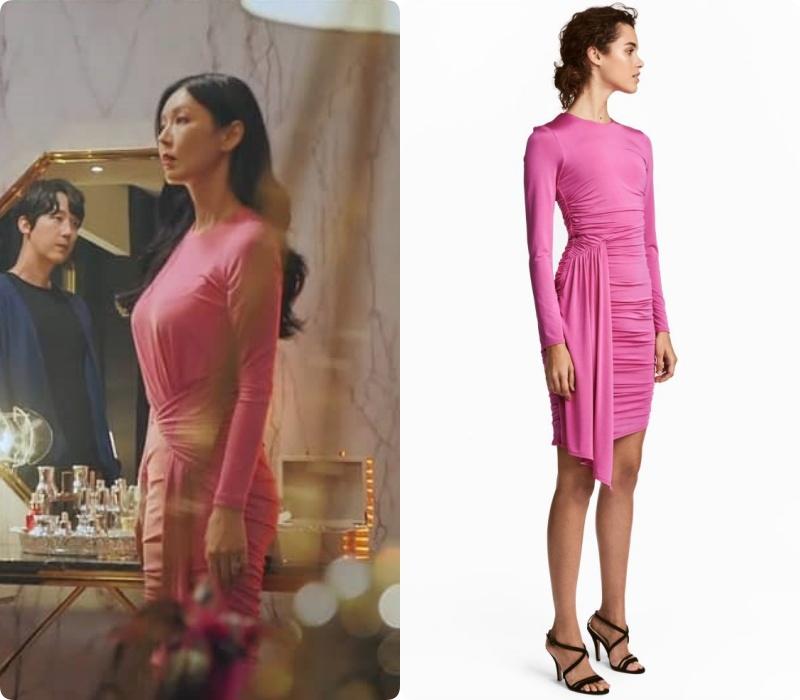 Màn khoe body và vòng 3 đỉnh cao của nàng tiểu tam hot nhất phim Hàn lại đến từ bộ đầm H&M giá chỉ hơn 1 triệu - Ảnh 4.