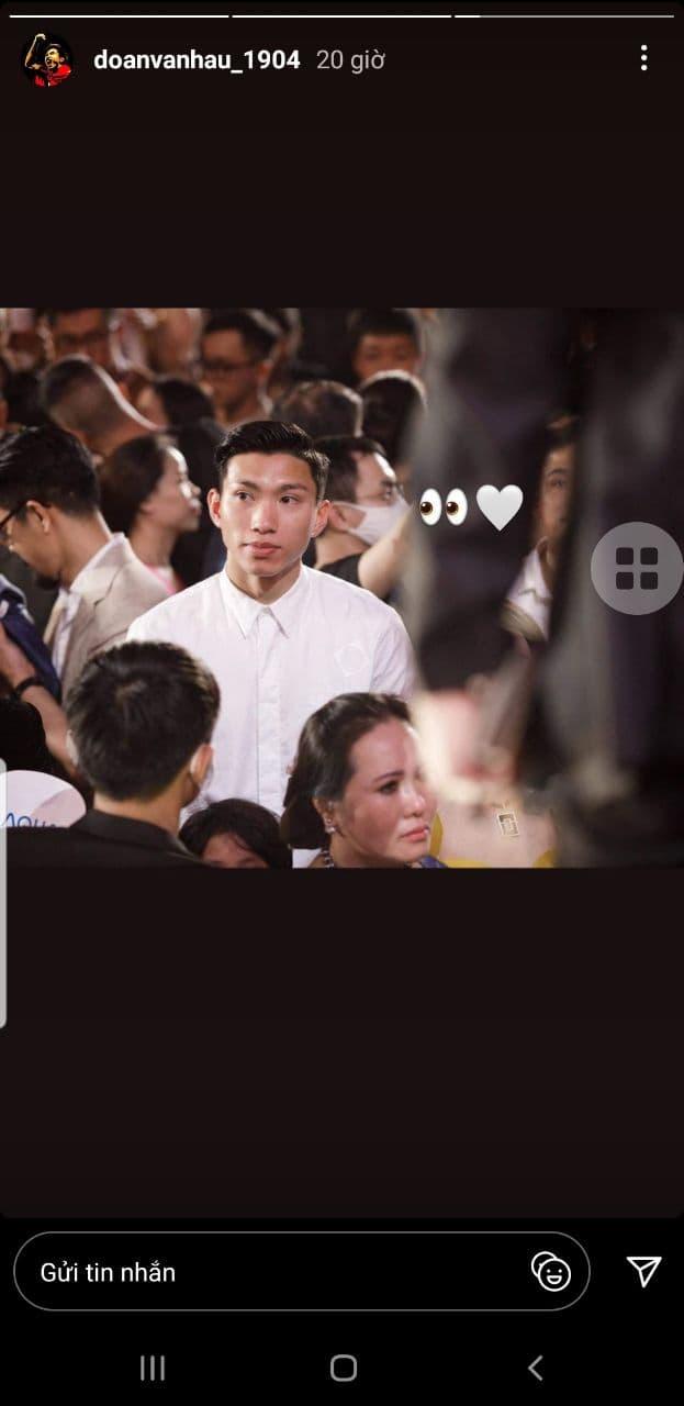 Ra mà xem Đoàn Văn Hậu quăng thính lộ liễu cho Doãn Hải My qua khoảnh khắc tìm kiếm tình yêu trong đêm Chung kết HHVN - ảnh 1