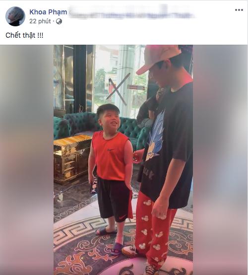 Buồn của Karik: Bị fan nhí gặp trực tiếp mà khẳng định là pha-ke, tuyên bố Karik tại Rap Việt đẹp trai hơn gấp 1000 lần! - ảnh 1