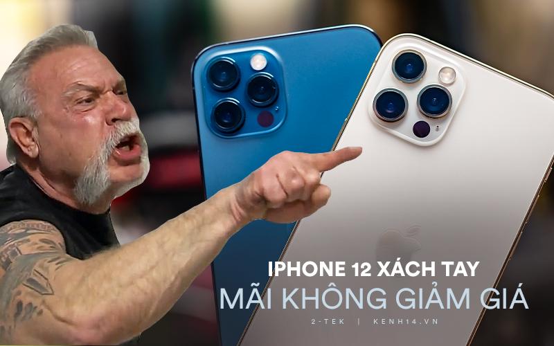 """Trước khi thị trường """"bùng nổ"""" với iPhone 12 chính hãng về Việt Nam, giá bán hàng xách tay vẫn không hạ nhiệt"""