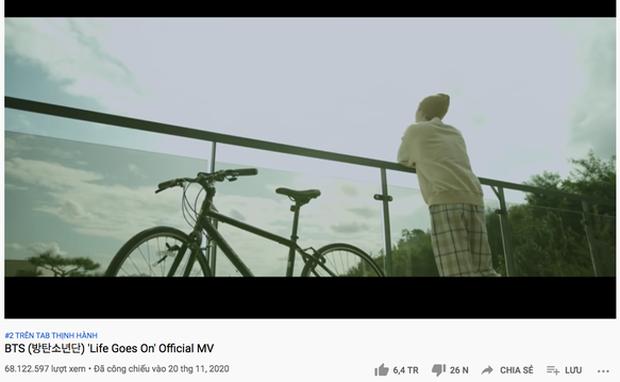 YouTube xác nhận lượt xem MV Life Goes On trong 24 giờ đầu: BTS được cộng thêm view nhưng vẫn thua xa BLACKPINK - Ảnh 3.