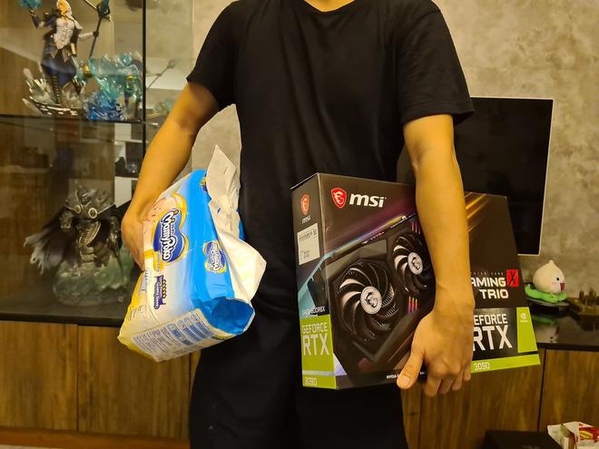 Nói dối vợ máy PlayStation 5 mới mua là máy lọc không khí nhưng không thành, thanh niên Đài Loan phải bán lại với giá rẻ - ảnh 1