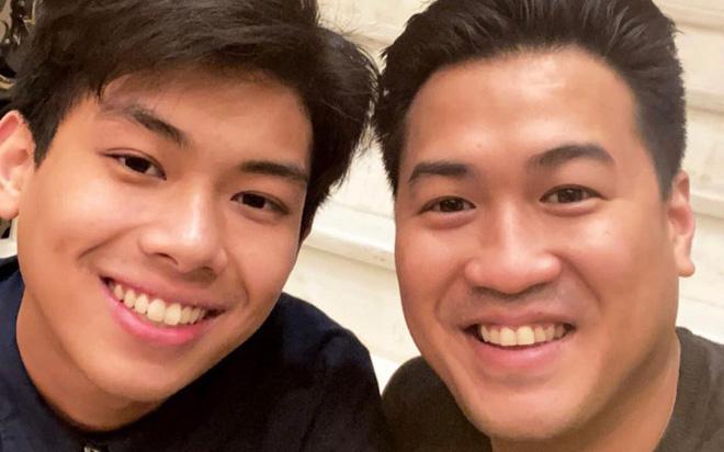 """Con trai tỷ phú Jonathan Hạnh Nguyễn bị anh hớ hênh tiết lộ chuyện yêu đương, xem ra nhà hào môn ngóng """"dâu út"""" lắm rồi"""