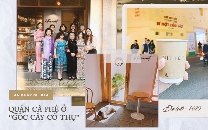 """Giữa lòng Đà Lạt có 1 quán cà phê nằm ở """"gốc cây cổ thụ"""": cả gia đình 3 thế hệ thay nhau truyền và giữ lửa"""