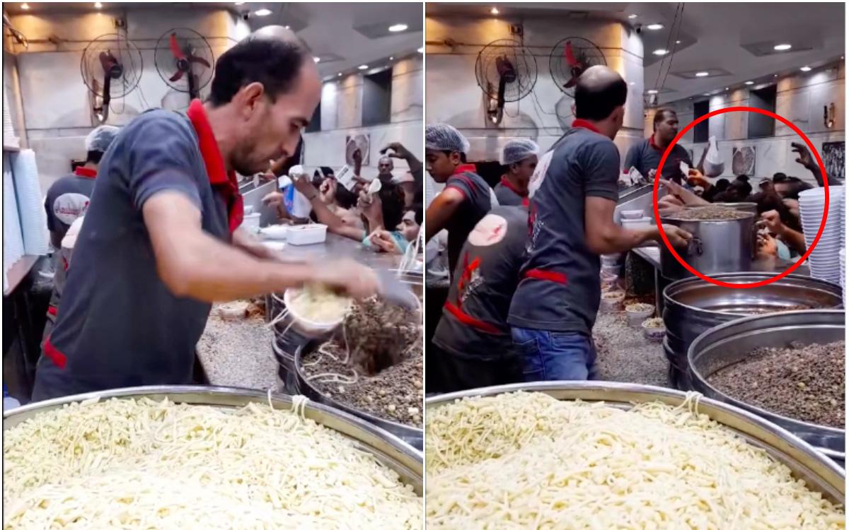 """Dân mạng Việt """"ném đá"""" một quán ăn nước ngoài chỉ vì tốc độ bán hàng... quá nhanh, nhìn vào lượng khách chờ mua còn bất ngờ hơn"""