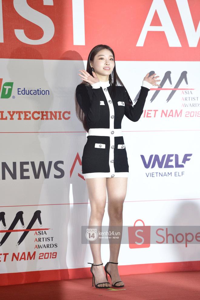 """Năm ngoái quân đoàn sao Hàn khuynh đảo thảm đỏ AAA ở Việt Nam: Yoona - Park Min Young đẹp xỉu, Ji Chang Wook, Red Velvet và dàn idol """"bùng nổ"""" - ảnh 16"""