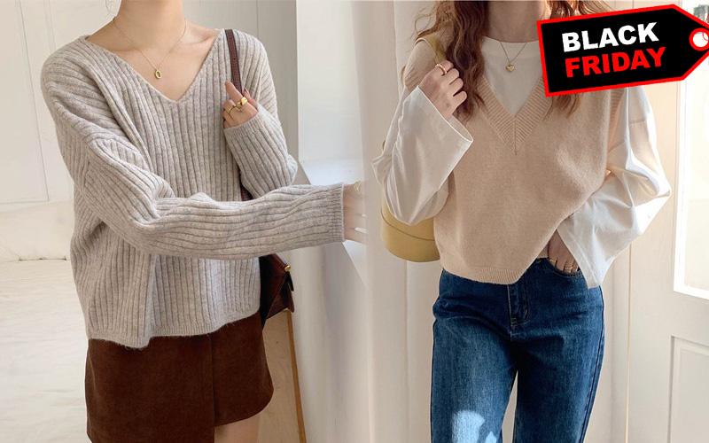 Loạt áo len đang giảm giá, sắm ngay đón trời lạnh là chuẩn