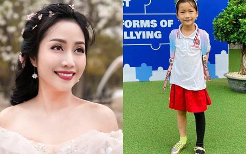 """Con gái Ốc Thanh Vân ăn mặc nhếch nhác, """"chân thấp chân cao"""" đến trường: Nghe xong lý do ai cũng khen nức nở"""