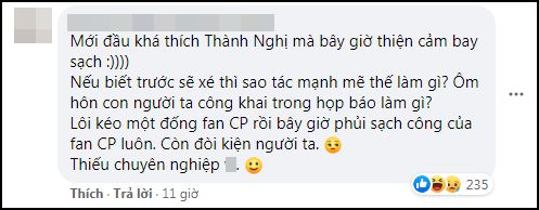 Ekip Thành Nghị đăng đàn cảnh cáo fan Lưu Ly ngưng đẩy thuyền, tuyệt tình đến mức này rồi sao? - ảnh 4