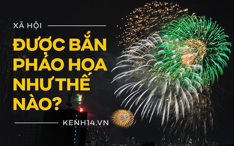INFOGRAPHIC: Hiểu đúng về quy định người dân được phép bắn pháo hoa
