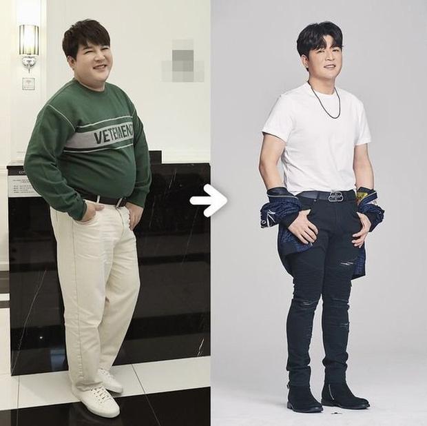 Màn giảm cân đi vào lịch sử Kpop: Chàng béo Shindong giờ nặng vừa bằng visual của Suju, nhăm nhe luôn vị trí visual? - ảnh 2