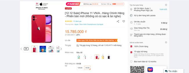 Siêu sale 12/12: Giá iPhone cũ từ đại lý đến các sàn thương mại điện tử chênh nhau thế nào? - Ảnh 2.