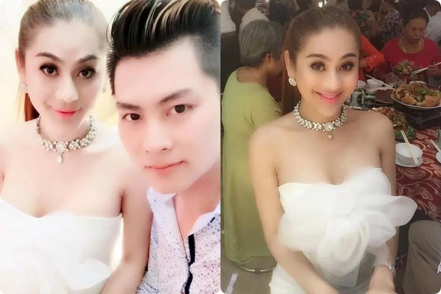 Đi đám cưới tình cũ Quý Bình, Lâm Khánh Chi thay tới 2 bộ váy cắt khoét hiểm hóc, chỉ vì đôi cao gót khủng nhưng xém chút thì vồ ếch - Ảnh 7.