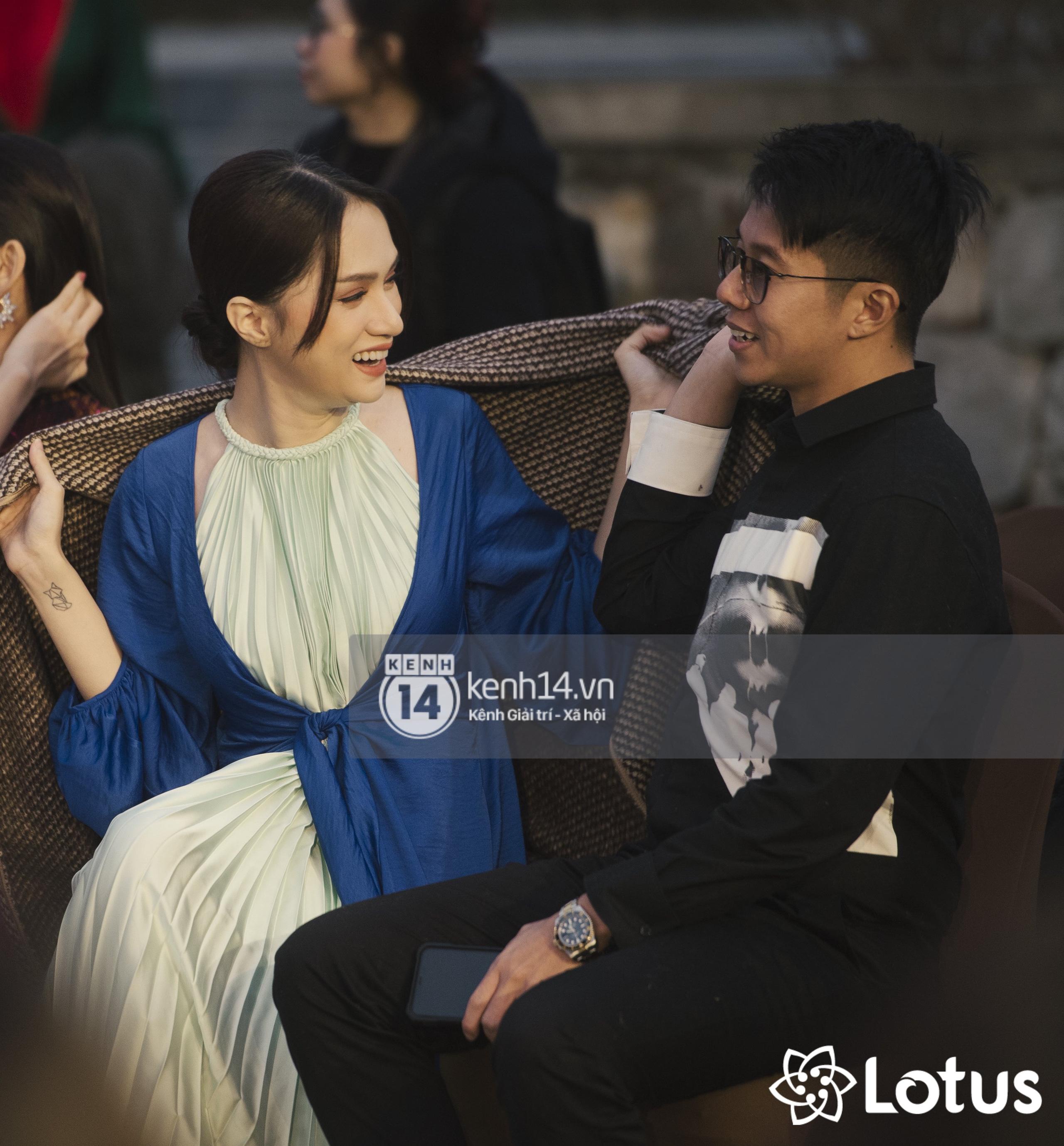 Lương Thuỳ Linh - Đỗ Hà nổi bần bật trong vị trí first face, Thanh Hằng bùng nổ với khí chất nữ thần tại show Đào của NTK Adrian Anh Tuấn - Ảnh 22.