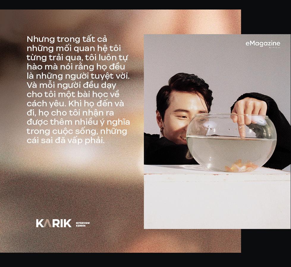 Karik: Nếu con người không sống đúng với cảm xúc của mình thì chẳng phải sẽ rất tội nghiệp hay sao? - Ảnh 9.