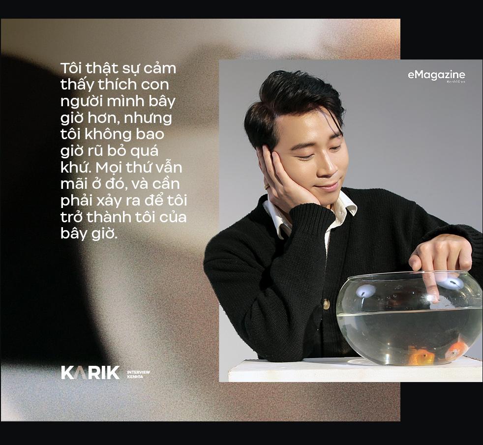 Karik: Nếu con người không sống đúng với cảm xúc của mình thì chẳng phải sẽ rất tội nghiệp hay sao? - Ảnh 16.