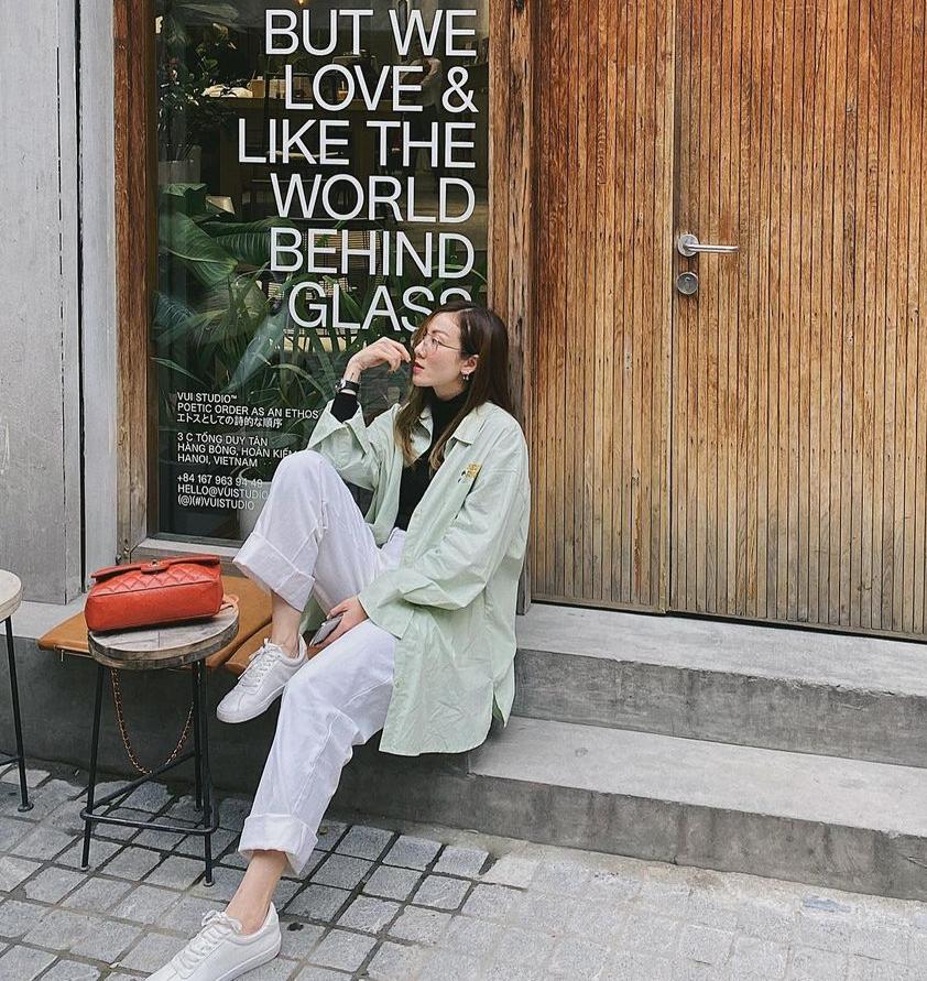 """Instagram look của sao Việt: Chi Pu, Mẫn Tiên lên đồ ấm áp vẫn không bằng Hà Tăng """"quẩy"""" outfit cho ngày đại hàn - Ảnh 3."""