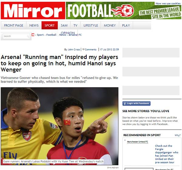 7 năm trước chạy bộ 8km ở Bờ Hồ để đuổi theo đội bóng Arsenal, nam sinh Hải Dương không ngờ cuộc đời mình thay đổi ngoạn mục - Ảnh 3.