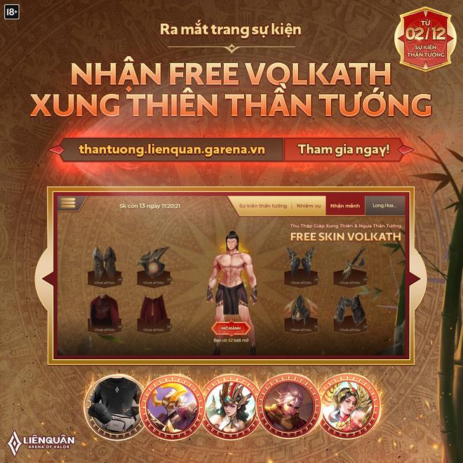 Liên Quân Mobile: Game thủ sẽ được nhận miễn phí trang phục Việt bậc S  Hữu Hạn cực dễ dàng - Ảnh 2.