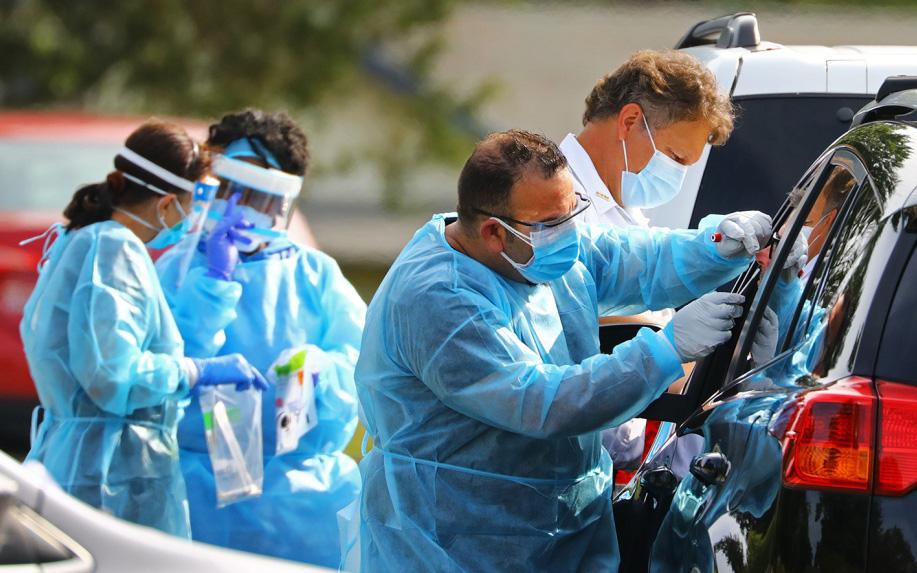 Mỹ tiếp tục ghi nhận 200.000 ca nhiễm mới chỉ trong 1 ngày, số ca tử vong vì Covid-19 lại đạt kỷ lục