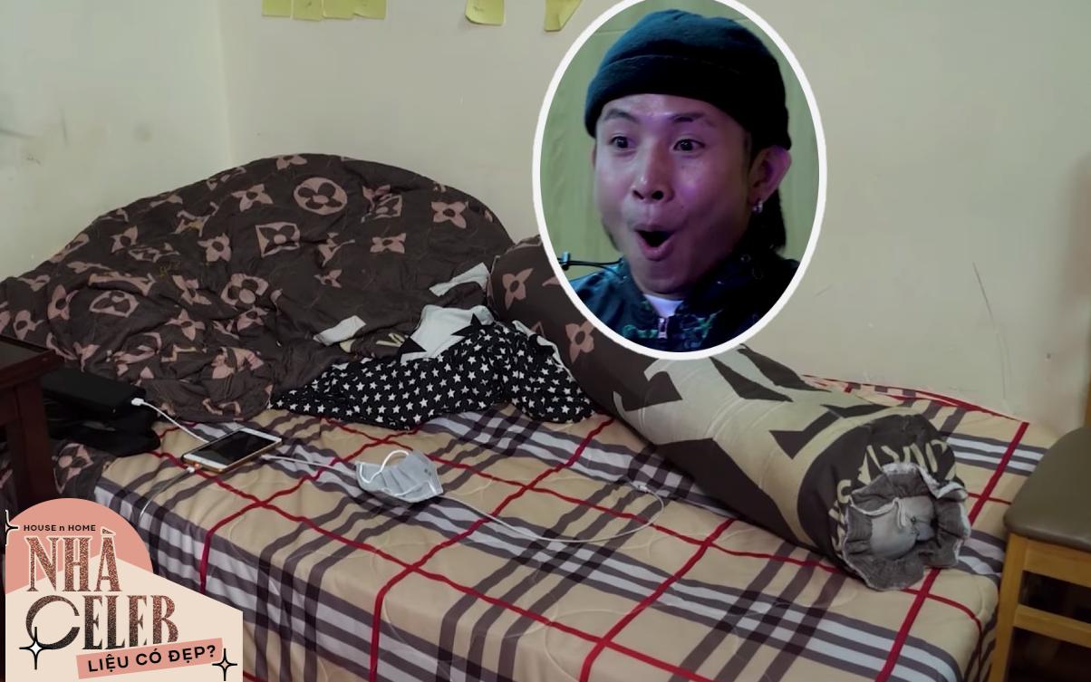 """Ricky Star lộ phòng riêng siêu lộn xộn, được ViruSs bí mật decor lại """"căng cực"""""""