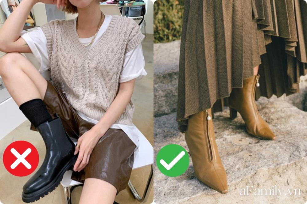 Chân ngắn, chân to hay vòng kiềng... tìm ngay công thức diện boots tốt khoe xấu che, tôn dáng nhất cho đôi chân của chị em - Ảnh 3.