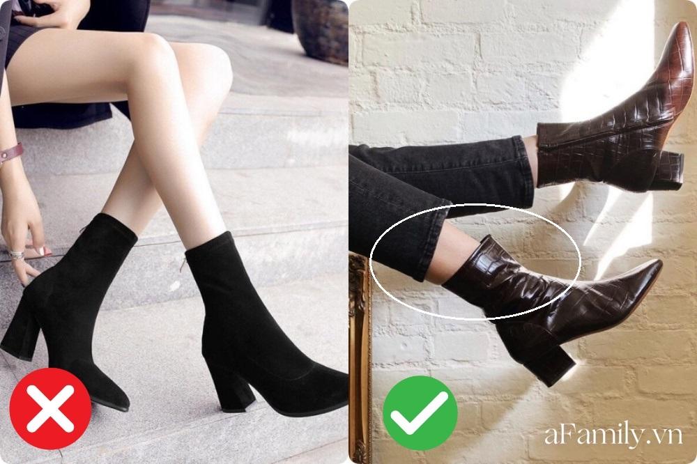 Chân ngắn, chân to hay vòng kiềng... tìm ngay công thức diện boots tốt khoe xấu che, tôn dáng nhất cho đôi chân của chị em - Ảnh 4.