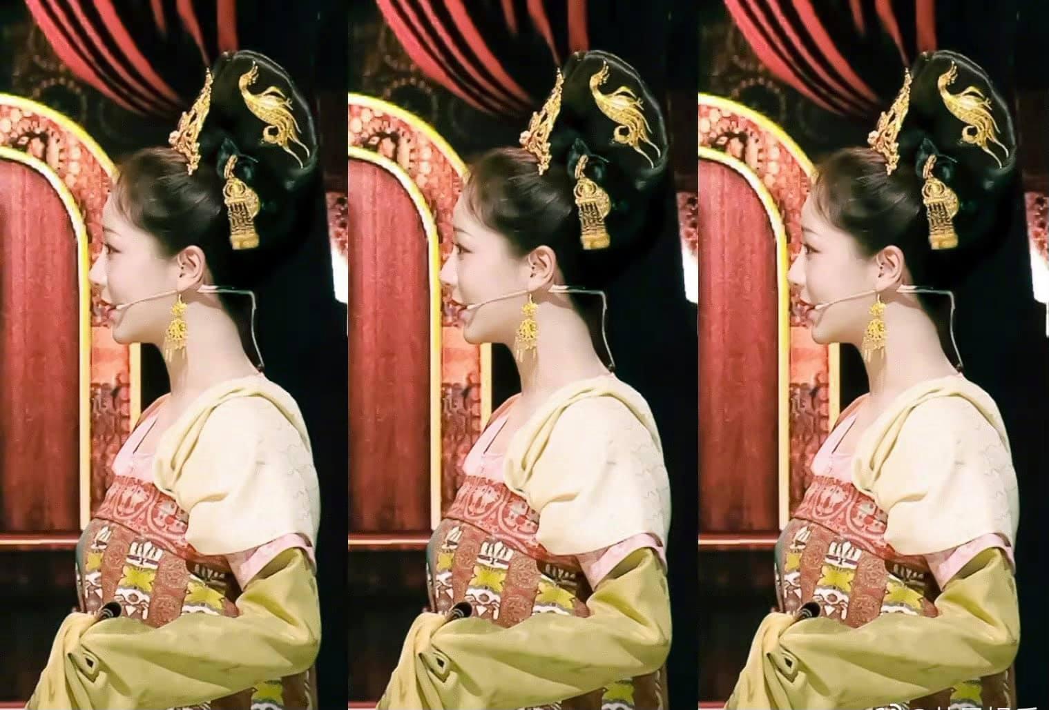 Dương Tử lộ ảnh chưa chỉnh sửa khi hóa công chúa thời Đường, fan vẫn hết lời khen ngợi: Mũm mĩm tí lại xinh! - Ảnh 3.