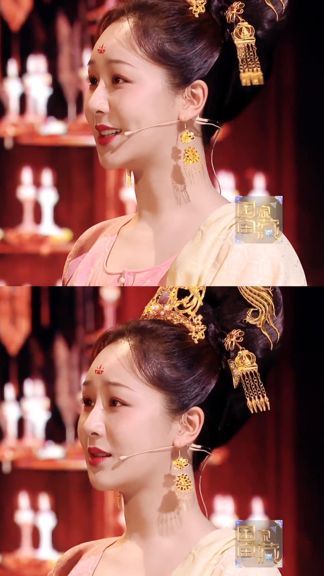 Dương Tử lộ ảnh chưa chỉnh sửa khi hóa công chúa thời Đường, fan vẫn hết lời khen ngợi: Mũm mĩm tí lại xinh! - Ảnh 2.
